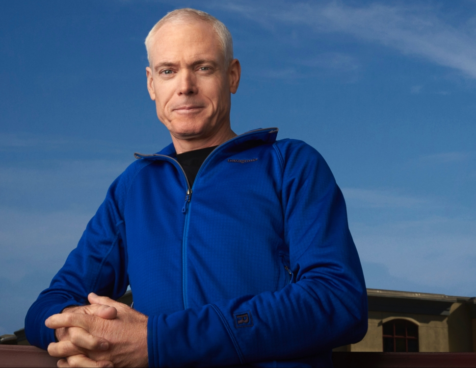 Jim Collins - smart casual outdoors